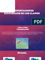 Manifestaciones Culturales de Los Llanos Venezolanos