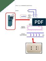Cálculo de Potencia y La Corriente Electrica