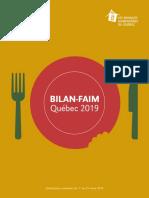 BAQ Bilan Faim 2019