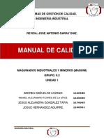 Manual de Calidad(Original)