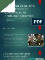 FINAL Propiedad de La Tierra y Narcotráfico en Colombia