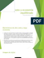 Costo y Economía Equilibrado