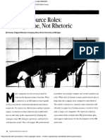 Human Resource Roles