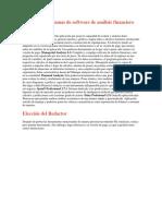 Los cinco programas de software de análisis financiero más utilizados