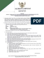 Pengumuman Jadwal Lokasi Skb Kota Binjai 2018