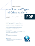 Definition and Types of Crime Analysis