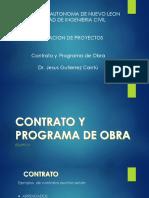 Contrato y Programa de Obra