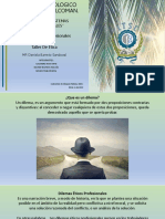 DILEMAS ETICOS PROFESIONALES
