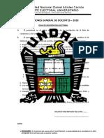 Kit Electoral - Formatos Para Docentes 2018