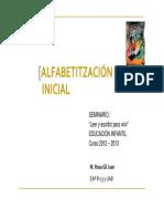 05º PRESENTACIÓN-Alfabetitzación Inicial -RGil