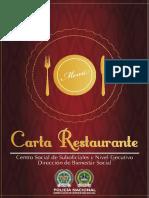 Carta Restaurante Web
