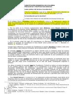LA CONSTITUCIÓN DOGMÁTICA DE COLOMBIA PREGUNTAS Y RESPUESTAS BÁSICAS.