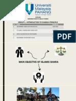 Group 1 Shariah Principle