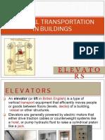 Vertical Transportation in Buildings