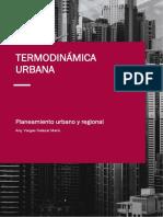 Termodinámica Urbana