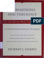 Prepositions and Teología - Murray Harris