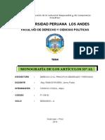 Monografia de derecho civil