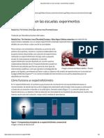 Espectrometría en Las Escuelas_ Experimentos Prácticos