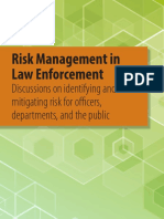Risk Management in Law Enforcement