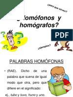 homofonos y homografos cuarto basico