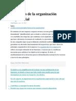 Principios de La Organización Empresarial