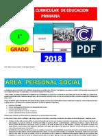 CURRICULAR DE EDUCACIÓN PRIMARIA