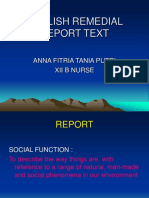 Report Text Anna Xii b Nurse