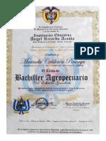 Diploma y Acta Bachiller