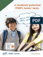 TOEFL Junior Brochure