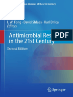 (Emerging Infectious Diseases of the 21st Century) I. W. Fong, David Shlaes, Karl Drlica - Antimicrobial Resistance in the 21st Century-Springer International Publishing (2018)