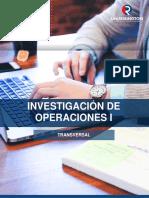 Investigacion de Operaciones I-2018
