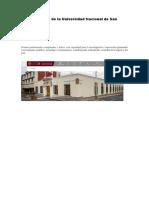 6. Misión y Visión de La Universidad Nacional de San Agustín