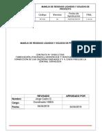 Pr-032 Manejo de Residuos Solidos y Líquidos
