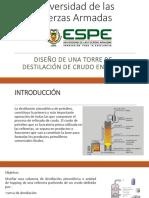 Simulacion-Destilacion de Crudo