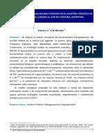 Hidrogeoquímica y Análisis Multivariado en El Acuífero Freático