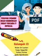 Ppt Farmakologi Kel. 13 1a d3kep