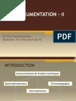 1. Instrumentation II (Elv)