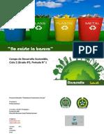 Proyecto de Aula Desarrollo Sostenible