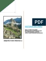 Monografia de Historia de La Arquitectura Peruana