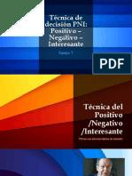 Técnica de Decisión PNI