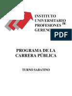 programa IUPG