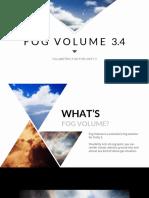 Fog Volume 3.4