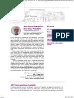 Newsletter No. 10 - 2019-03