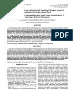 Interpretasi Visual dan Digital untuk Klasifikasi Tutupan Lahan