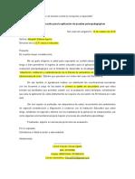 1. Modelo de Carta de Presentación Para Colegios