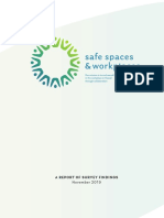 Safe Spaces Workplaces Survey Findings Brochure