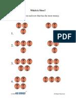 Activity   PreK-K   Math   Which is More