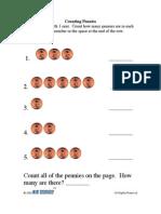 Activity   PreK-K   Math   Counting Pennies