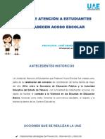 Protocolos Acoso, Maltrato y Abuso Escolar, Uae 2019