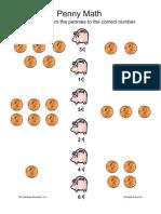 Activity   PreK-K   Penny Math